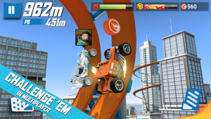 تصویر محیط Hot Wheels Race Off v11.0.12232