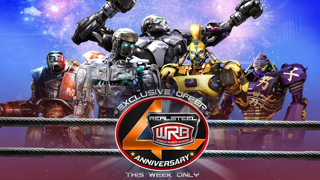 Real Steel World Robot Boxing v34.34.984 + data