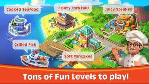 تصویر محیط Cooking Rush – Chef's Fever Games v1.1.3