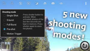 تصویر محیط Fast Burst Camera v8.0.8