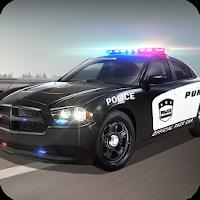 بازی رانندگی در ماشین پلیس آیکون