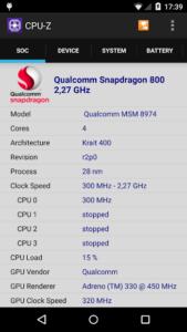 تصویر محیط CPU-Z v1.29