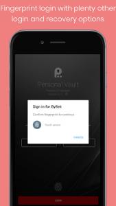 تصویر محیط Personal Vault PRO – Password Manager v4.2-full