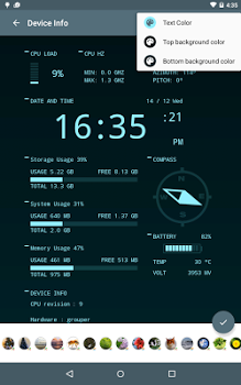 Oajoo Device Info Wallpaper v1.0.b7