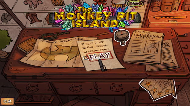 The Monkey Pit Island – Survive the treasure curse v1.0