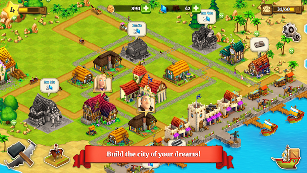 Town Village: Farm, Build, Trade, Harvest City v1.8.0