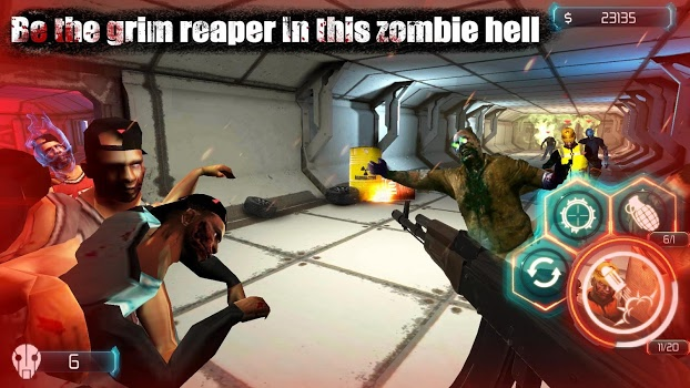 Zombie Invasion:Dead City HD v1.7