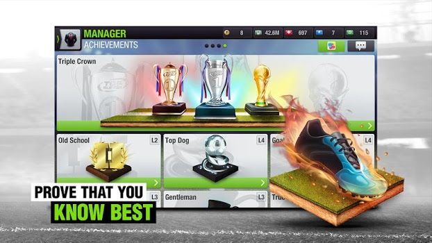 Top Eleven 2018 – Be a Soccer Manager v6.0
