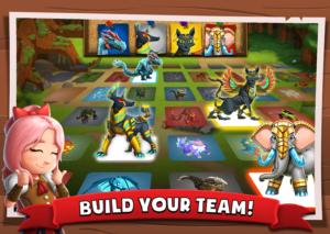 تصویر محیط Battle Camp – Monster Catching v5.14.0