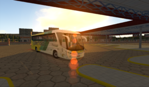 تصویر محیط Heavy Bus Simulator v1.085 + data