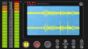 تصویر محیط Field Recorder v9.0