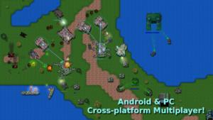 تصویر محیط Rusted Warfare – RTS Strategy v1.13.2