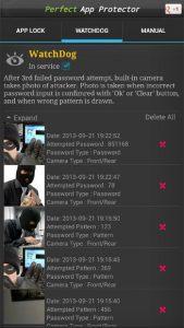 تصویر محیط Perfect App Lock Pro v7.3.3