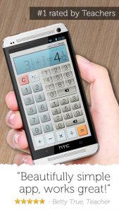 تصویر محیط Fraction Calculator Plus v4.8.4