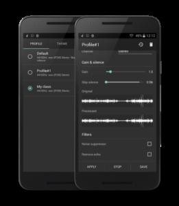 تصویر محیط Recordr – Smart & Powerful Sound Recorder Pro v3.1