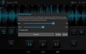 تصویر محیط Voice PRO – HQ Audio Editor v4.0.28