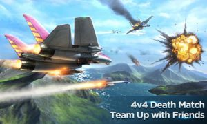 تصویر محیط Air Combat OL: Team Match v5.4.0 + data
