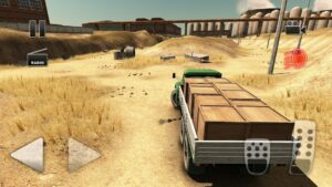 تصویر محیط Truck Driver Crazy Road 2 v1.23 + data