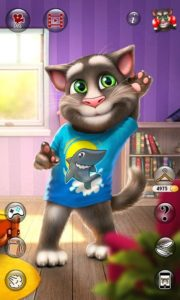 تصویر محیط Talking Tom Cat 2 v5.4.1.46