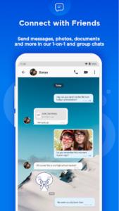 تصویر محیط BBM – Free Calls & Messages v3.3.19.74