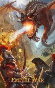 تصویر محیط Empire War: Age of hero v9.803