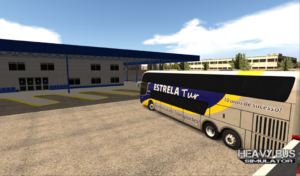 تصویر محیط Heavy Bus Simulator v1.084 + data