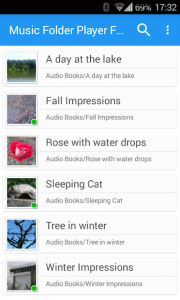 تصویر محیط Music Folder Player Full v2.6.1