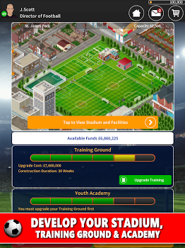 Club Soccer Director 2018 – Football Club Manager v2.0.8e