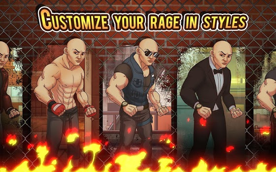 Fist of Rage: 2D Battle Platformer v1.5