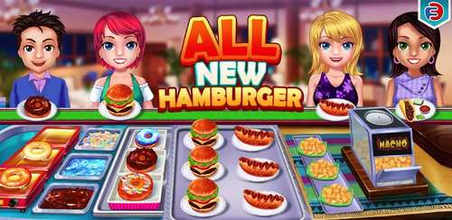 Food Court Fever: Hamburger 3 v2.7.3