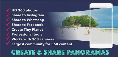Panorama 360 Camera+ Photosphere support+ VR video v5.3.3-v7a