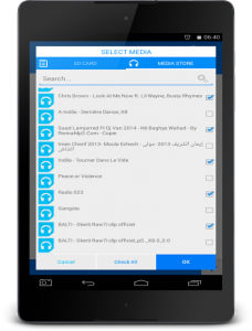 تصویر محیط All Video Audio Converter PRO v5.8
