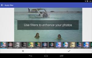 تصویر محیط Scoompa Video – Slideshow Maker and Video Editor v27.0