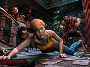 تصویر محیط Horror Clown Survival v1.16