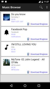 تصویر محیط MP3 Cutter v3.16.5