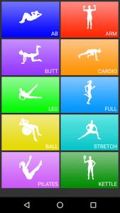 تصویر محیط Daily Workouts v6.32