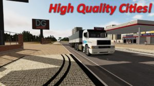تصویر محیط Heavy Truck Simulator v1.971 + data
