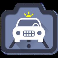 نرم افزار دوربین هشدار قوانین راهنمایی و رانندگی آیکون