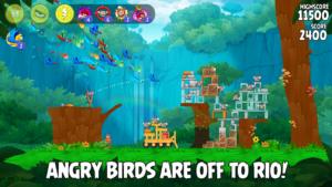 تصویر محیط Angry Birds Rio v2.6.13