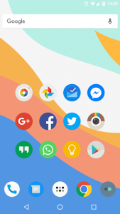 تصویر محیط FlatDroid – Icon Pack v15.4