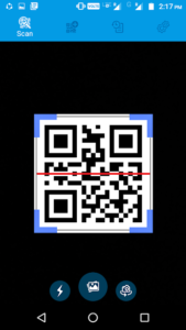 تصویر محیط QR and Barcode Scanner PRO v1.2.4