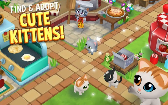 Kitty City: Kitty Cat Farm Simulation Game v14.001