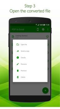 PDF to Excel v1.0.11