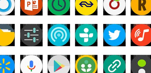 FlatDroid – Icon Pack v15.4