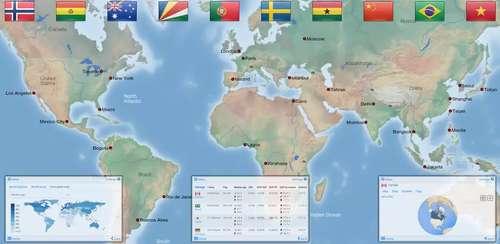 World atlas & map MxGeo Pro v5.0.1