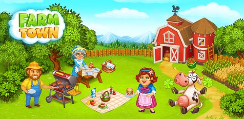Farm Town: Happy farming Day & food farm game City v2.40