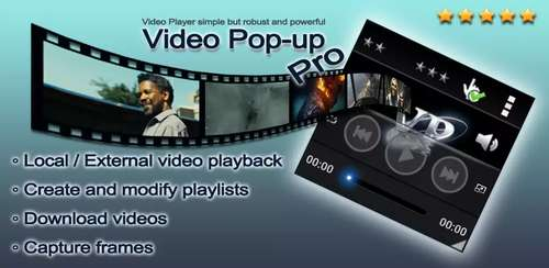 Video Pop-up, Pro v3.2.1