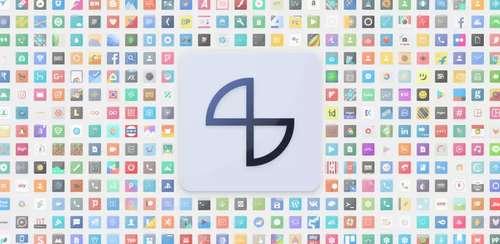 Talitha Square – Oreo Adaptive Icon Pack v14