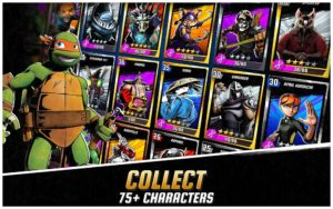 تصویر محیط Ninja Turtles: Legends v1.15.5