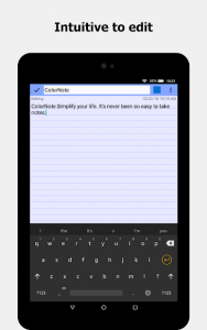تصویر محیط ColorNote Notepad Notes v4.2.8